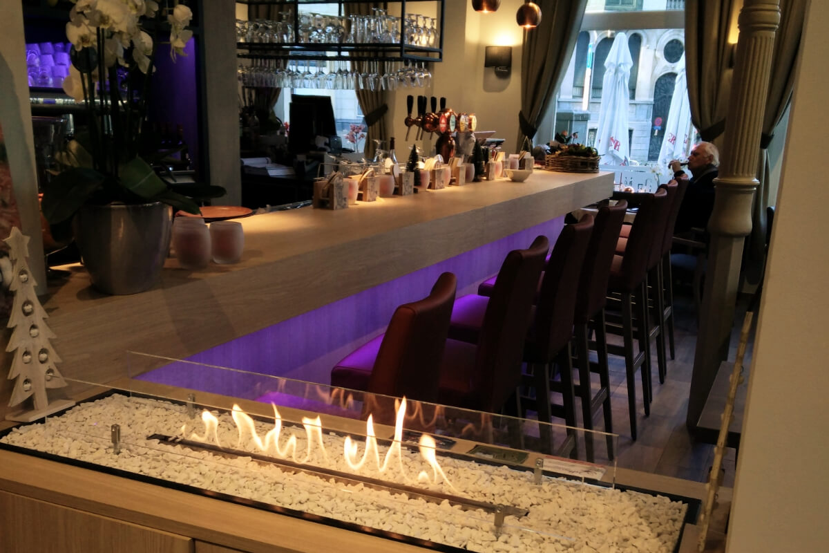 biofireplace restaurant