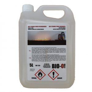 Proefpakket: BIO-O! bio-ethanol 4 x 5L (geurloos) + 2 x 5L (vanille geur)